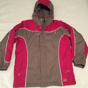3 for $25 REI hooded winter coat fleece lined